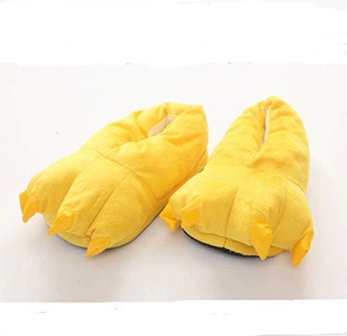 40 Coppie 35 40 45 Yellow Pigiama black Zampe Hong Pezzo Jia Pantofole Scarpe Di Un Spesse 7RZw56qP