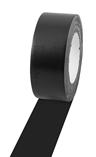 Champion Cinta de Vinilo Sports para marcar Suelos, Varios Colores y Longitudes, 5 cm x 33 m, Negro, 2' x 36yd