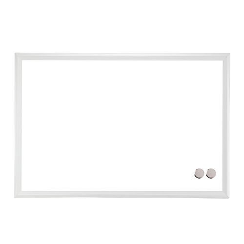 (U Brands Magnetic Dry Erase Board, 20 x 30 Inches, White Wood Frame)
