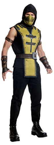 Rubie's Men's Mortal Kombat X Scorpion Costume, Multi, Standard for $<!--$28.98-->