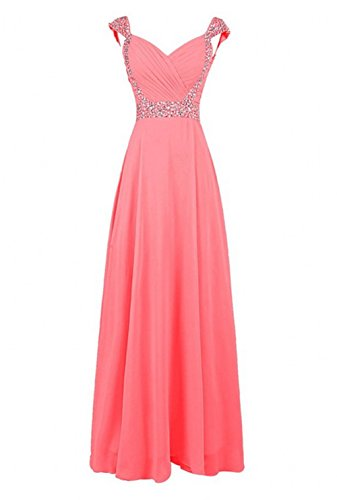 Love Dress Women Long Bridesmaid Dress Prom Party Gown Coral Us 26w by Love To Dress