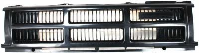 UPC 799422255340, Evan-Fischer EVA17772010010 Grille Assembly Grill Plastic shell and insert Black