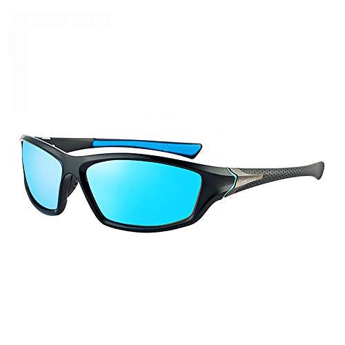 de al Gafas de Libre Sol Blanco Burenqiq Sol Aire Hombres polarizadas Sol Classic Ciclismo de de de conducción Gafas Gafas Marco Gafas Blue film wYwqvX8