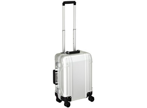 zero-halliburton-geo-aluminum-carry-on-4-wheel-spinner-travel-case-silver-one-size