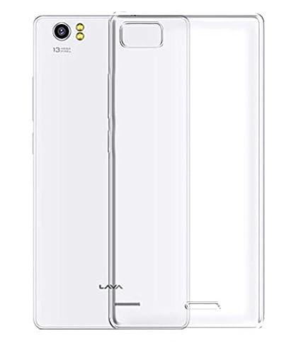 Thinkzy Soft Back Case Cover for Lava Pixel V2 (Transparent)