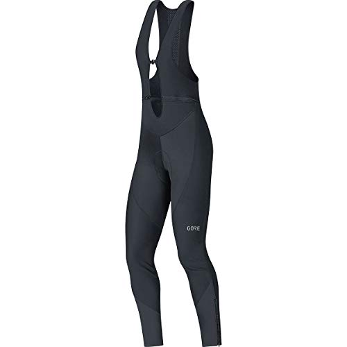 Gore Women's C3 Wmn Gws Bib Tights+, Black, L by GORE WEAR (Image #2)