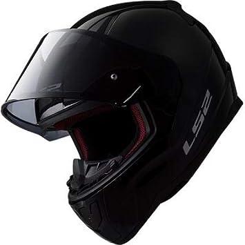 TAGLIA XXXL CASCO MOTO LS2 RAPID FF353 SOLID MATT BLACK