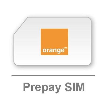 Amazon.com: Naranja Reino Unido prepagar tarjeta SIM ...