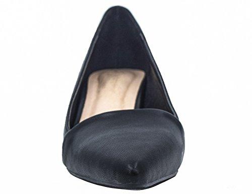 Greatonu - Peep-Toe donna, nero
