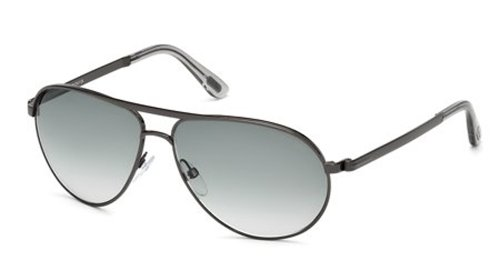 Tom Ford FT0144 Marko Sunglasses 08B Shiny ()