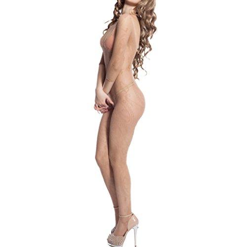 Long Sleeve Womens Bodystocking - 6