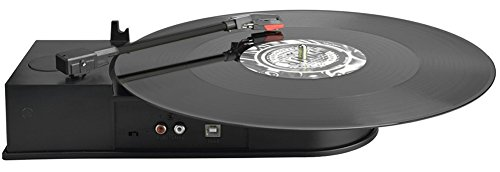 DigitNow Portable Mini USB Vinyl Turntable Record To Mp3 CD Converter,Audio Conversion Turntable Adapter To Supports Windows or Mac in 3 Step Compact Turntable
