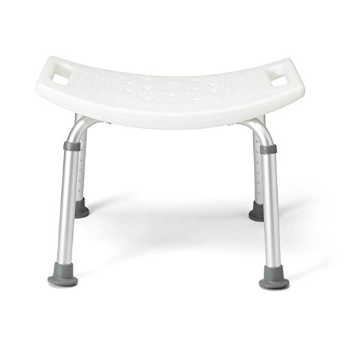 Medline MDS89740A Aluminum Bath Bench without Back