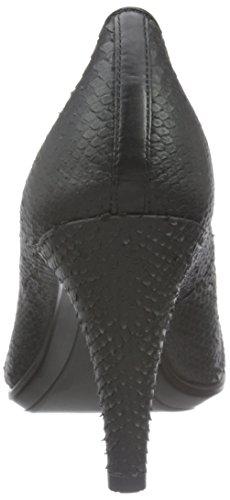 ECCO Shape 75 Pointy, Zapatos de Tacón para Mujer Negro (BLACK1001)