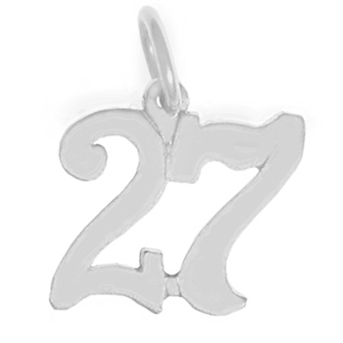Number Pendant for All Occasions Avail. in #1-25, Style #233, $7-$10, Ster. - Lopp In The