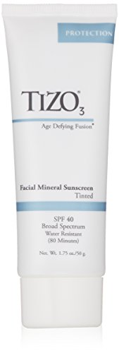 Spf 40 Active Sunblock (TIZO 3 Tinted Face Mineral SPF40 Sunscreen, 1.75 oz)