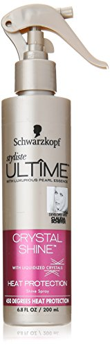 (Schwarzkopf Styliste Ultime Crystal Shine Heat Protection Spray, 6.8 Ounce)