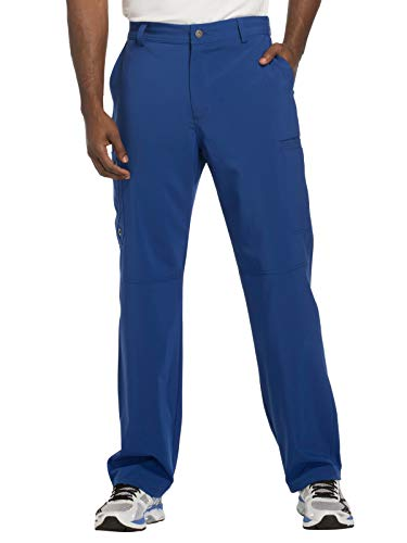 Cherokee Infinity CK200A Men's Fly Front Cargo Pant Galaxy Blue L ()