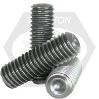 M5-0.80x10 MM SOCKET SET SCREWS CUP POINT 45H COARSE ISO 4029 / DIN 916 THERMAL BLAC (5000/box)