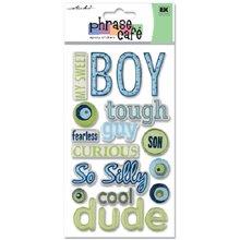 Sticko Phrase Cafe Epoxy Stickers, Boy ()
