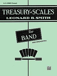 Treasury of Scales for Band and Orchestra: 1st Bb Cornet (Trumpet)