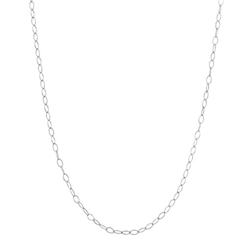 Kooljewelry Sterling Silver 1.5 mm Open Link Chain Necklace (16 inch) (16 Most Beautiful Trees In The World)