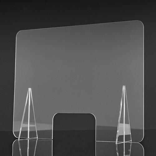 Mampara metacrilato transparente frontal 100x70cm: Amazon.es: Industria, empresas y ciencia