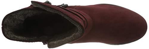 Stiefeletten Comfort 48 Dark Rot Mel Gabor Damen red Sport fH7Owqt