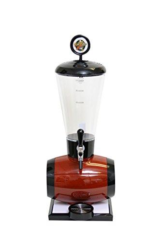 Beer Tubes Keg Barrel Beverage Tower Dispenser with Commercial Tap, 128 oz. Super Tube, Brown, BEB-ST-C by Beer Tubes
