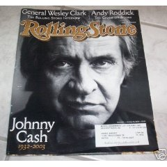 Johnny Cash Issue of Rolling Stone Magazine #933-----october 16th, 2003 (Rolling Stones Magazine) - Johnny Cash Rolling Stone