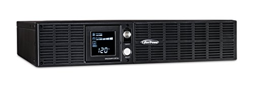 CyberPower OR2200PFCRT2U PFC Sinewave UPS System, 2000VA/1540W, 8 Outlets, AVR, 2U Rack/Tower