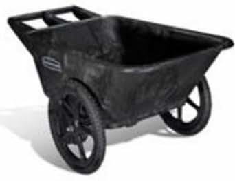 Rubbermaid Big Wheel HDPE Dump Truck, Black