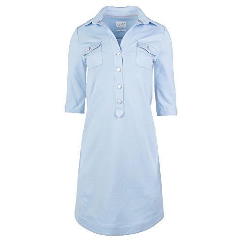 byMi amp; Baumwolle Modisch in produziert Sommerkleid Europa Elegantes aus Kleid Elegant Cool Hamburg Nachhaltig Charly Hellblau aBwXnqar