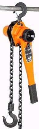 1-1/2 Ton Lever Chain Hoist with Mechanical Load Brake and 5 feet Max Lift - 1/2 Ton Lever Chain