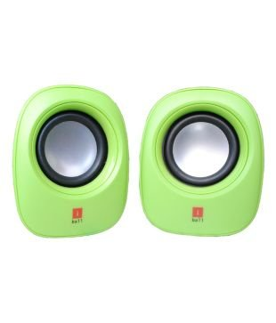 Amazon in: Buy iBall Soundwave2 2 0 multimedia Speaker (Green