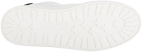 Shoe Women's West Nine White Palyla Leather Multi Walking TwqdTx7SXc