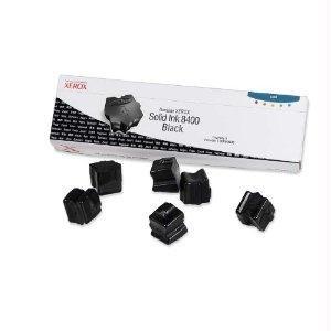 Brand New Xerox Genuine Xerox Solid Ink 8400 Black (Six Sticks) 108R00608