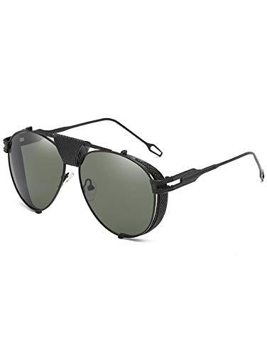 L-MEIQUN,Gafas de Sol piloto Decorativas de PU(Color ...