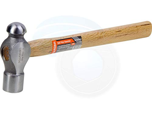 Heavy Duty 24oz Ball Pein Peen Hammer Oak Wooden Untislip Handle