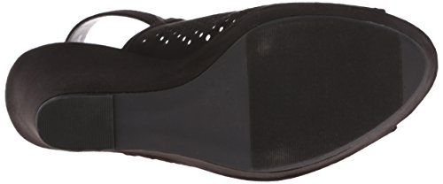 Wedge Women's Chinese SU Laundry Sandal Black Magnolia Micro 455xXrq