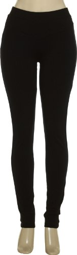 ROMEO & JULIET COUTURE Black Work Stretch Pants, MED