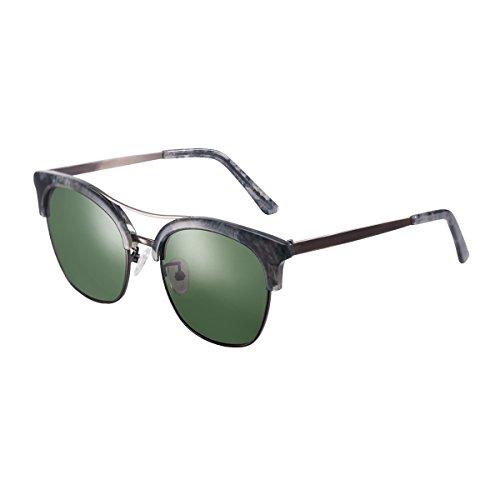 De Sol Grande caja Uv Llztyj gafas Mujeres cumpleaños Exterior Sol decoración Sol Gafas Redondas regalo Gris protección Viento de de gafas Violeta gafas medias Sol wqCvx5vnrE