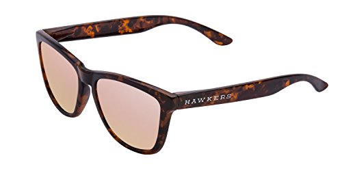 Hawkers Carey Rose gold One, Gafas de Sol Unisex, Marrón/Rosa