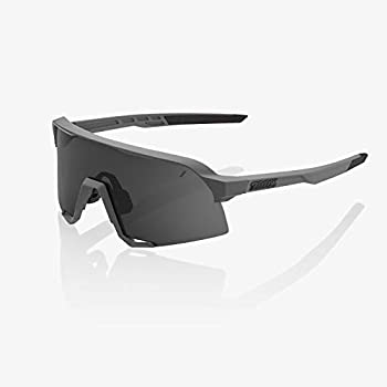 Image of 100% S3 Sunglasses (Matte Cool Grey/Smoke Lens)