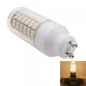 GU10 4W 108LED SMD3528 3000K LED Light Warm White Corn Light Bulb with Cover (220-240V)