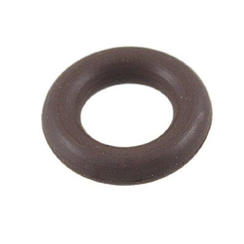 eDealMax 14 mm x 7 mm x 3,5 mm flor de goma de sellado O Ring Empaque Arandela