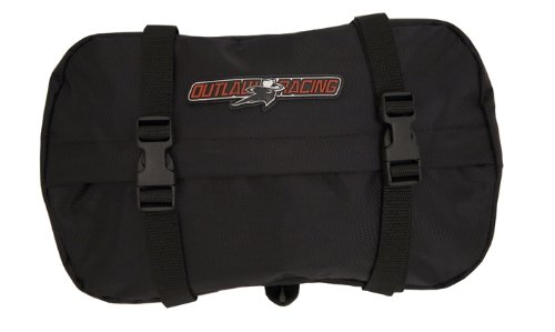 Outlaw Racing OR2093 Motorcycle Off Road Dirt Bike Dual Sport Enduro Fender Tool Pack Bag Removable