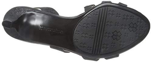 Dress Glitter Women's Naturalizer Sandal Taimi Black 7EwfnxnqzP