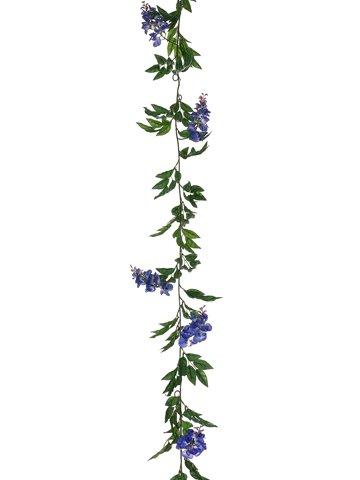 6-Wisteria-Garland-Blue-pack-of-6-Silk-Flower