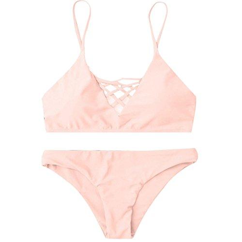 LHWY Bikini Damen Push Up Bademode Frauen Zweiteilige Badehose ...